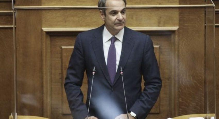 Προ ημερησίας διατάξεως συζήτηση για τις συνέπειες του κορωνοϊού, στην ολομέλεια της Βουλής, στην Αθήνα, στις 7 Σεπτεμβρίου, 2020