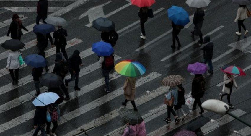Rainfall in Athens, November 13, 2019 / Βροχόπτωση στην Αθήνα, 13 Νοεμβρίου, 2019