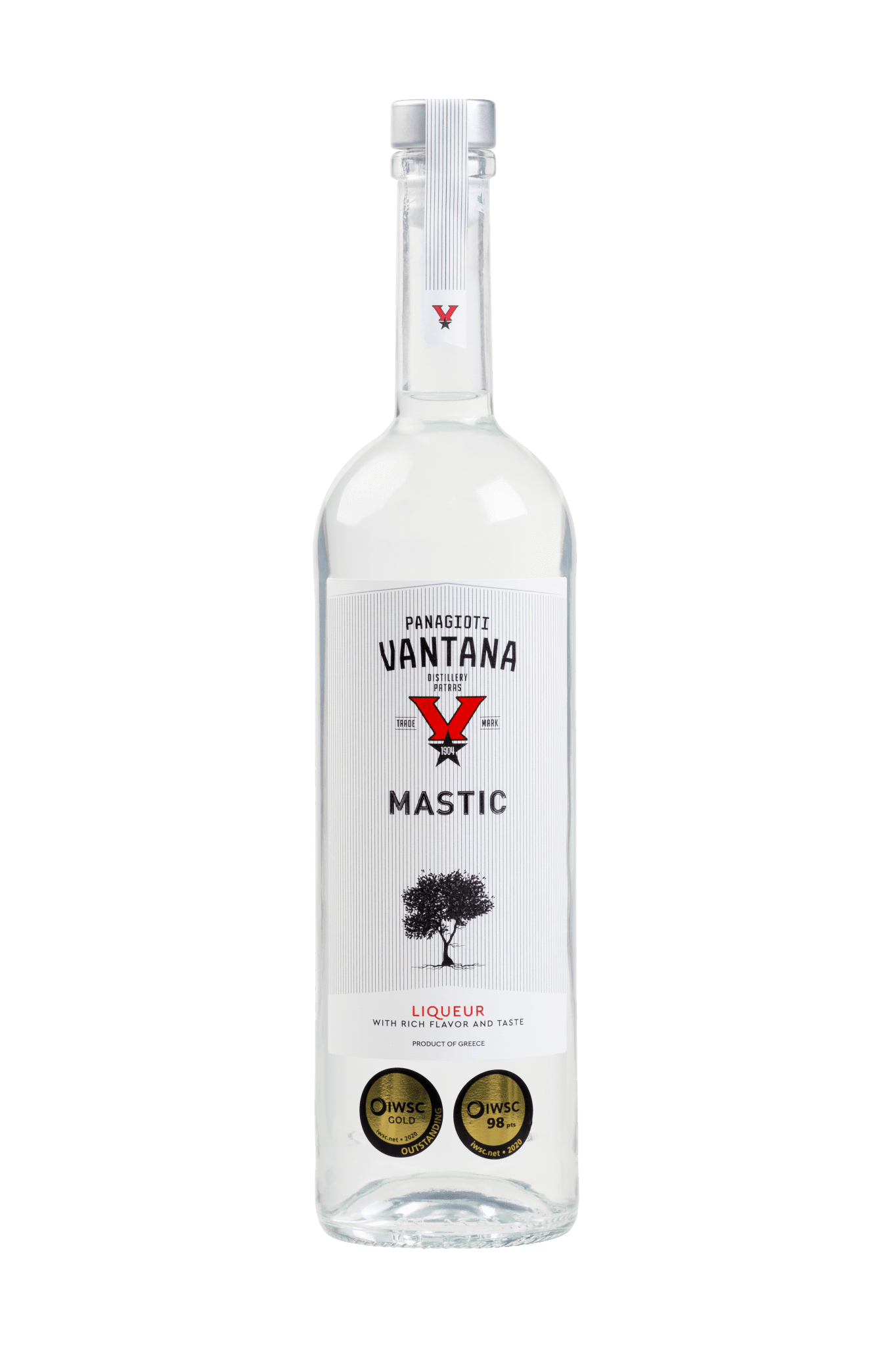 MASTIC VANTANA 22% 700 mL new cork - gold outstanding 98 iwsc 2020