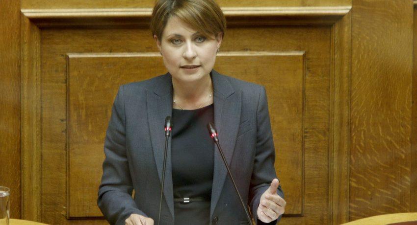 Χριστίνα Αλεξοπούλου - Βήμα Βουλής