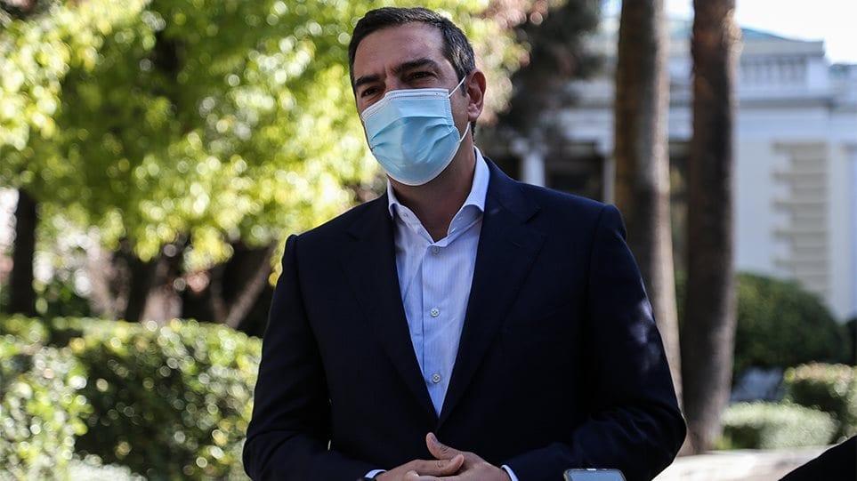 Tsipras maska