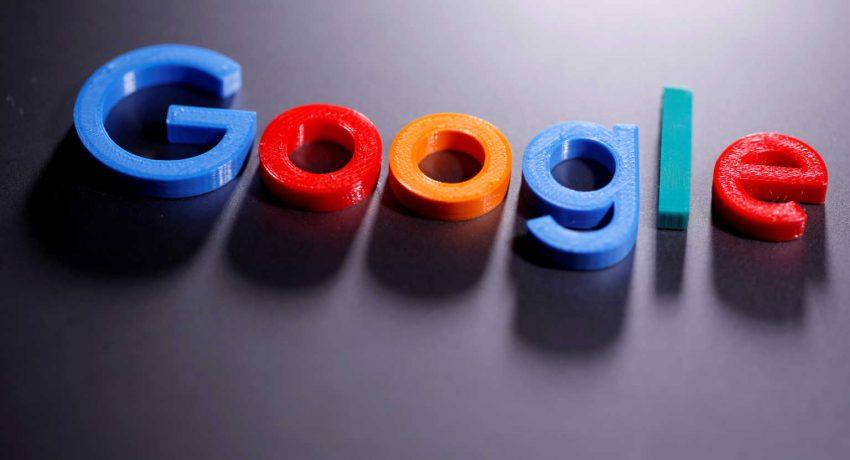 FILE PHOTO: File photo of a 3D printed Google logo in illustration taken April 12, 2020. REUTERS/Dado Ruvic/Illustration/File Photo
