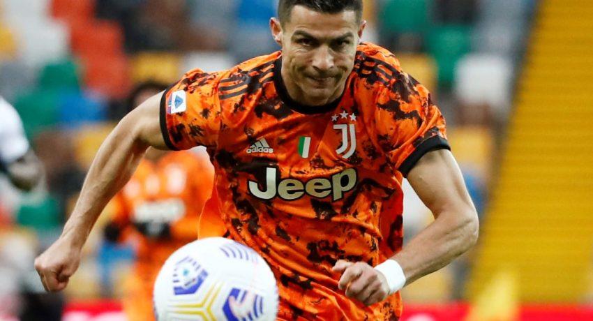 Soccer Football - Serie A - Serie A - Udinese v Juventus - Dacia Arena, Udine, Italy - May 2, 2021 Juventus' Cristiano Ronaldo in action REUTERS/Alessandro Garofalo