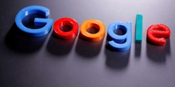 FILE PHOTO: File photo of a 3D printed Google logo in illustration taken April 12, 2020. REUTERS/Dado Ruvic/Illustration/File Photo