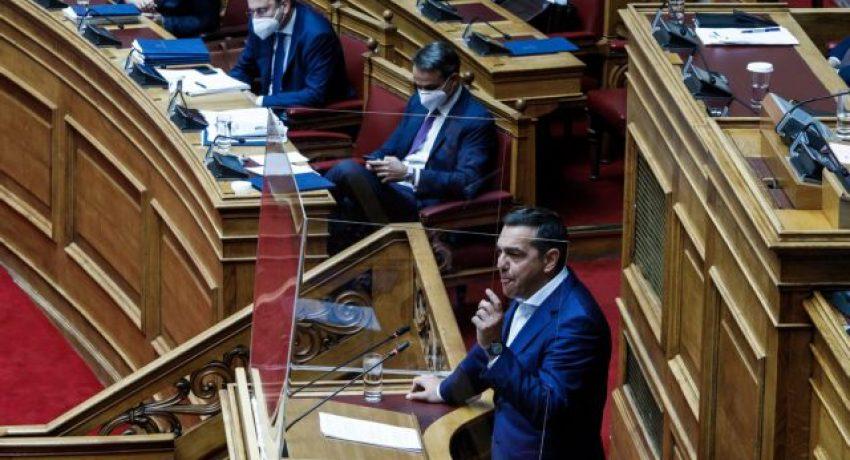 Συνέχιση της συζήτησης και ψήφιση του σχεδίου νόμου του Υπουργείου Εργασίας και Κοινωνικών Υποθέσεων «Για την Προστασία της Εργασίας - Σύσταση Ανεξάρτητης Αρχής «Επιθεώρηση Εργασίας» - Κύρωση της Σύμβασης 190 της Διεθνούς Οργάνωσης Εργασίας για την εξάλειψη της βίας και παρενόχλησης στον κόσμο της εργασίας - Κύρωση της Σύμβασης 187 της Διεθνούς Οργάνωσης Εργασίας για το Πλαίσιο Προώθησης της Ασφάλειας και της Υγείας στην Εργασία - Ενσωμάτωση της Οδηγίας (ΕΕ) 2019/1158 του Ευρωπαϊκού Κοινοβουλίου και του Συμβουλίου της 20ής Ιουνίου 2019 για την ισορροπία μεταξύ της επαγγελματικής και της ιδιωτικής ζωής», Τετάρτη 16 Ιουνίου 2021. (EUROKINISSI/ΓΙΩΡΓΟΣ ΚΟΝΤΑΡΙΝΗΣ)