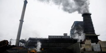 FILE PHOTO: A general view of the coking plant in Bytom, Poland, February 7, 2020. REUTERS/Kacper Pempel/File Photo