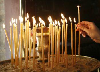A reenactment of the pieta took place at Pendeli Monastery, near Athens, on Good Friday, May 03, 2013  /  Τελετή της Αποκαθήλωσης στην Ιερά Μονή Πεντέλης, Αττική, την Μεγάλη Παρασκευή, 2013