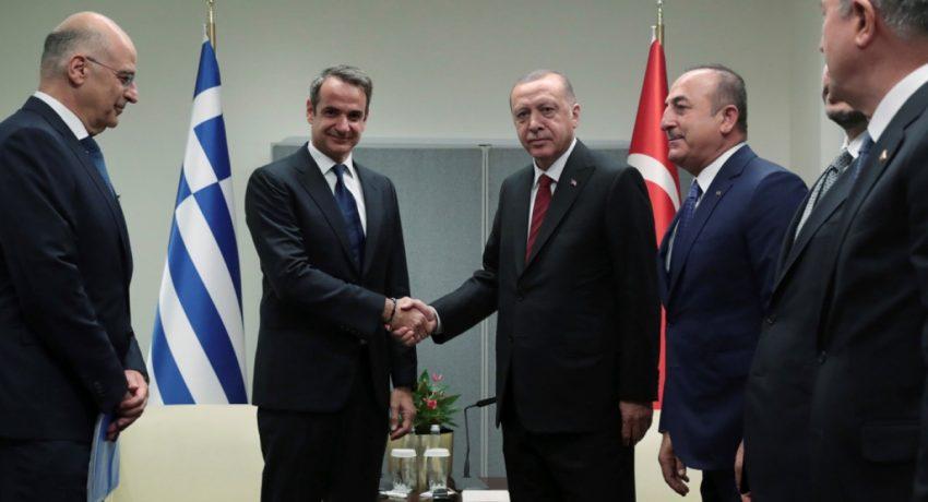 mitsotakis-erdogan-cavusoglu-dendias-ap