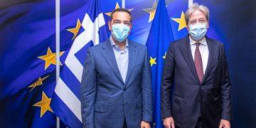 Ο Πρόεδρος του ΣΥΡΙΖΑ Προοδευτική Συμμαχία, Αλέξης Τσίπρας, στην Προπαρασκευαστική Σύνοδο του PES στις Βρυξέλλες, Πέμπτη 24 Ιουνίου 2021. (EUROKINISSI/ΓΡΑΦΕΙΟ ΤΥΠΟΥ ΣΥΡΙΖΑ)