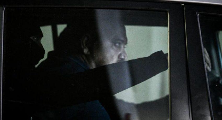 Στον Εισαγγελέα Εφετών για την εκτέλεση της ποινής του, οδηγήθηκε ο καταδικασθείς για διεύθυνση εγκληματικής οργάνωσης Χρήστος Παππάς, ο οποίος διέφευγε εδώ και οκτώ μήνες από τις αρχές, Παρασκευή 2 Ιουλίου 2021. (EUROKINISSI/ΤΑΤΙΑΝΑ ΜΠΟΛΑΡΗ)