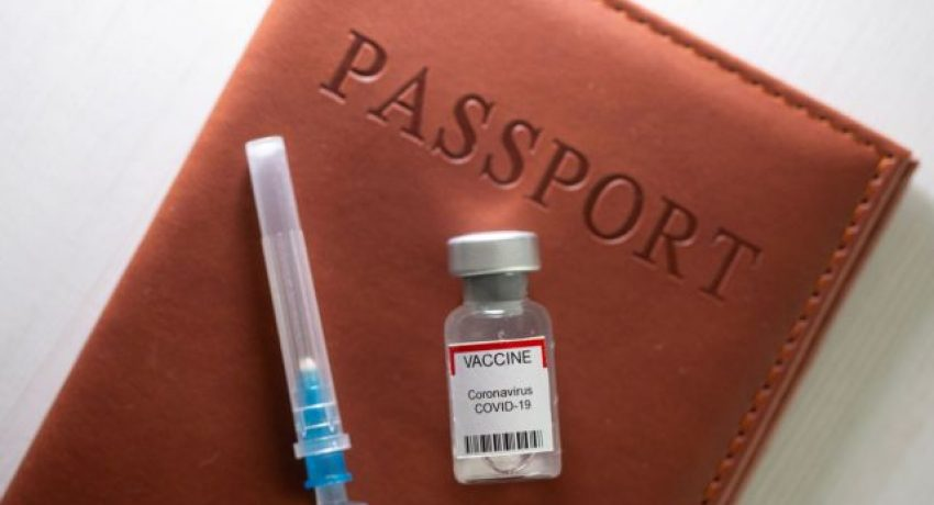 FILE PHOTO: A syringe and a vial labelled