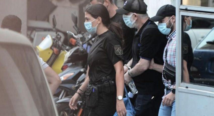Μεταγωγή του προφυλακιστέου για έναν βιασμό και δύο απόπειρες ηθοποιού, Πέτρου Φιλιππίδη, απο τη ΓΑΔΑ στις φυλακές Τρίπολης, στην Αθήνα, στις 28 Ιουλίου, 2021