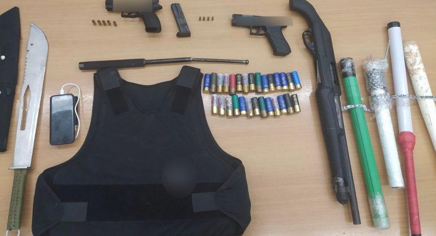 17-9-2021 Συνελήφθη άνδρας στην Πάτρα για παράβαση του νόμου για τα όπλα
