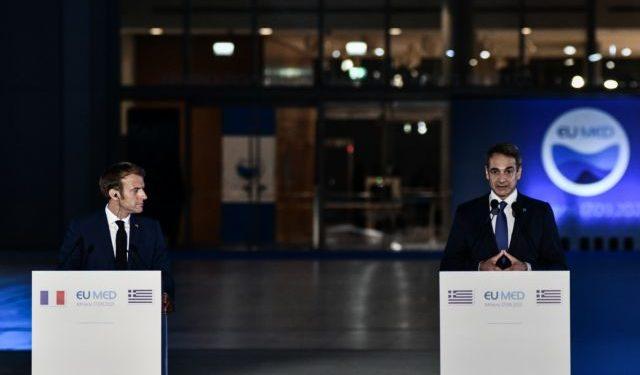 8η Σύνοδος Κορυφής των Μεσογειακών χωρών της Ευρωπαϊκής Ένωσης (EU - MED), με τη συμμετοχή, για πρώτη φορά, της Σλοβενίας και της Κροατίας στο Κέντρο Πολιτισμού Ίδρυμα Σταύρος Νιάρχος, Παρασκευή 17 Σεπτεμβρίου 2021. (EUROKINISSI/ΤΑΤΙΑΝΑ ΜΠΟΛΑΡΗ)